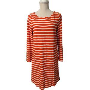 J. Crew Striped T-Shirt Dress